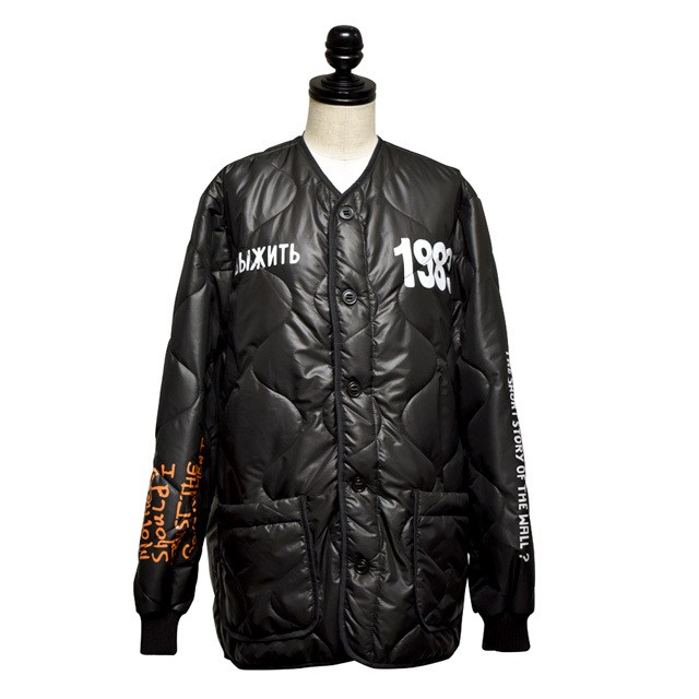 FUSION / DKT Padded Jacket / Black