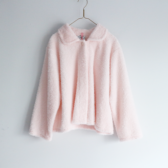 light pink fluffy short_GW