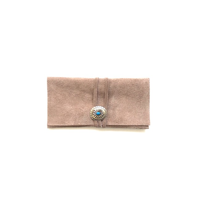 Sunglasses case  -beige-