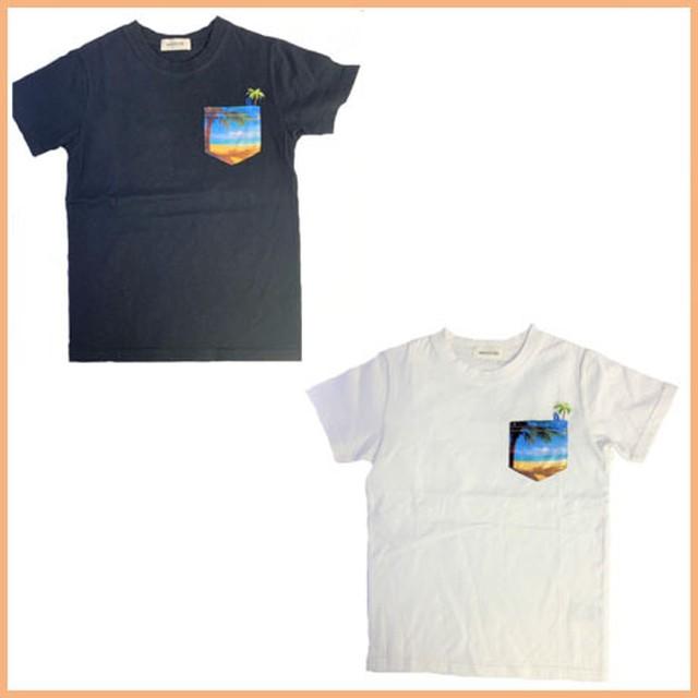 リゾートポケットTシャツ23792