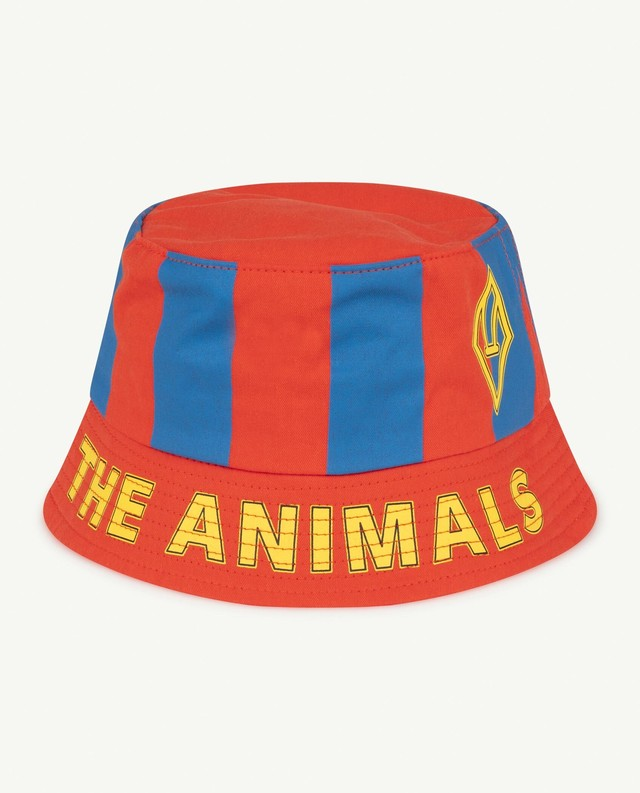 【21SS】the animals observatory ( TAO ) STARFISH KIDS  HAT red blue
