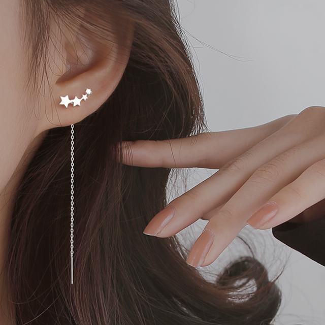 star chain pierce gold/silver p122