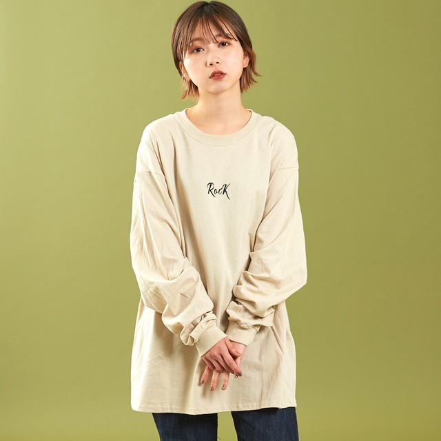 RocK Long Sleeve Beige