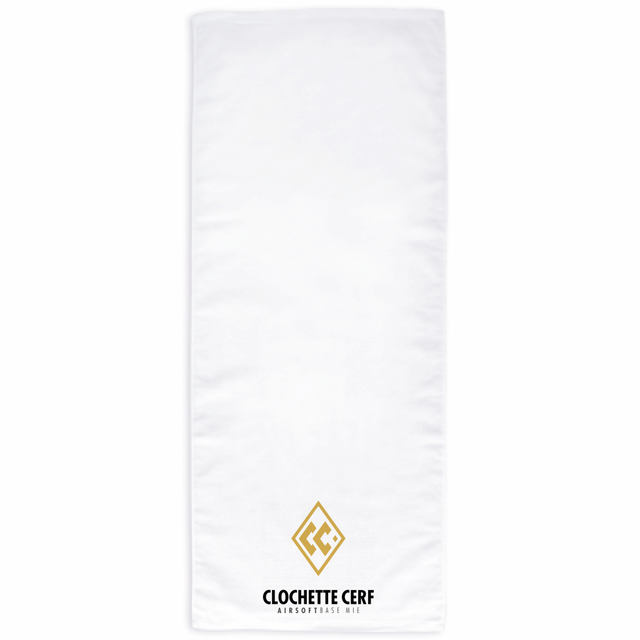 CC SHIRRING FACE TOWEL