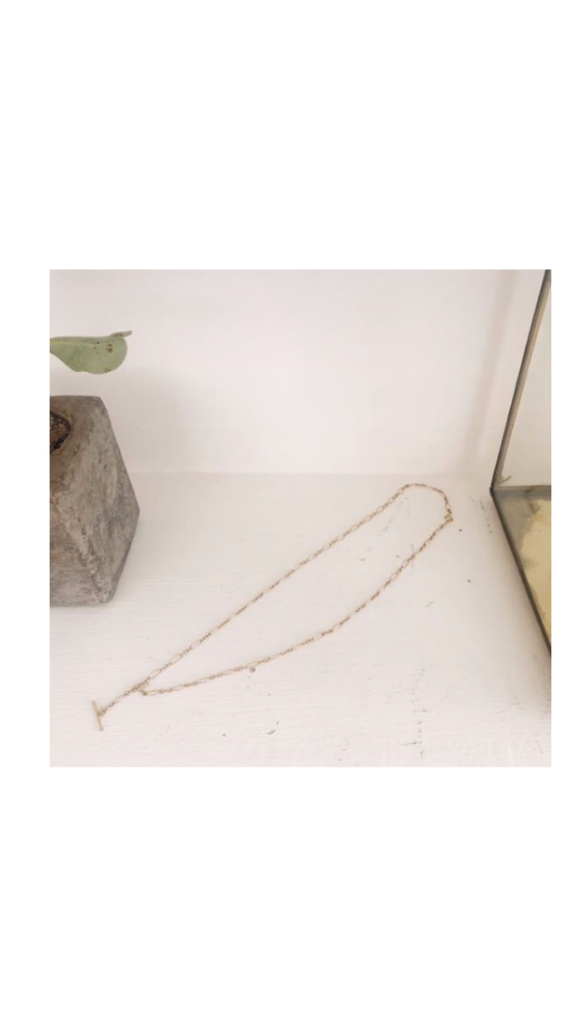 Tbar Necklace ディーバーネックレス