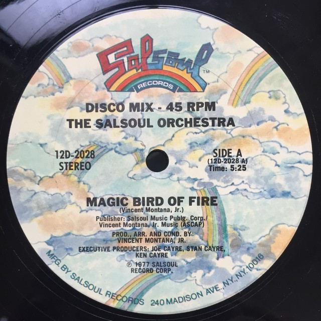 The Salsoul Orchestra ‎– Magic Bird Of Fire / Getaway