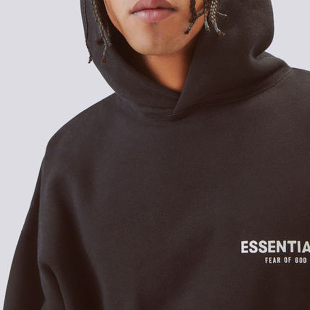 FOG ESSENTIALS / Essentials Logo Pullover Hoodie / Black