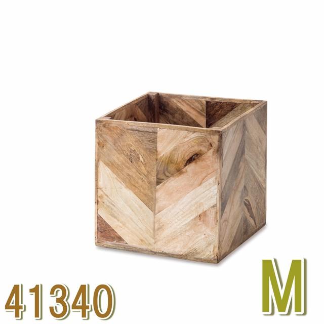 ヘリンボーンポットカバー M  41340