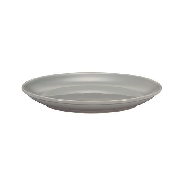 西海陶器 波佐見焼 「コモン」 プレート 皿 180mm グレー 13207