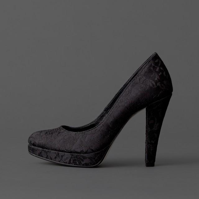 Lace / Close Toe / 12cm / BK 【1122 BK】