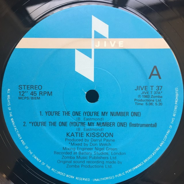 Katie Kissoon – You're The One (You're My Number One)