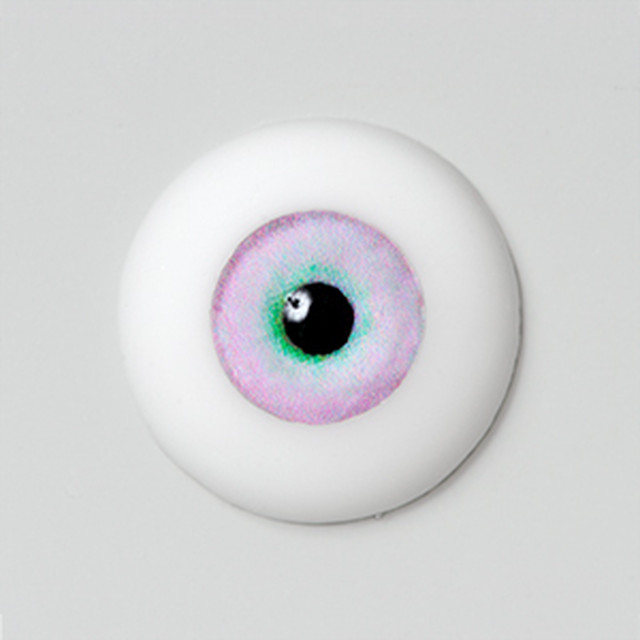 Silicone eye - 09mm Water Sapphire Pink