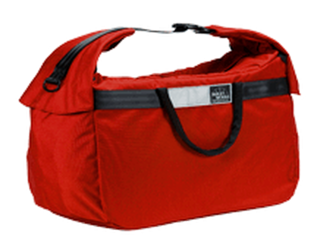 *BAILEYWORKS* whale mouth duffel (M/RED) - メイン画像