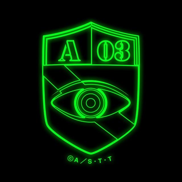 ワールドトリガー 高発光缶バッジ 風間隊A03