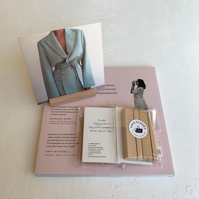 Wood photo stand / フォトスタンド / BLHW166926 / NE
