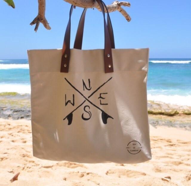 SEA CURRENT Canvas Bag