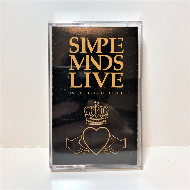 [中古カセット]   Simple Minds ‎– Live In The City Of Light