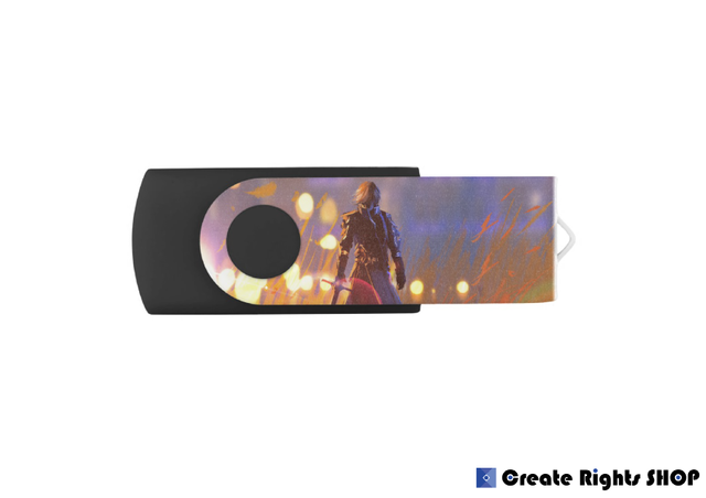 オリジナルスイベルUSBフラッシュメモリ(8GBモデル)019