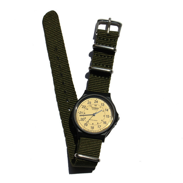 CASIO BASIC WATCH 03 / NATO-type Strap