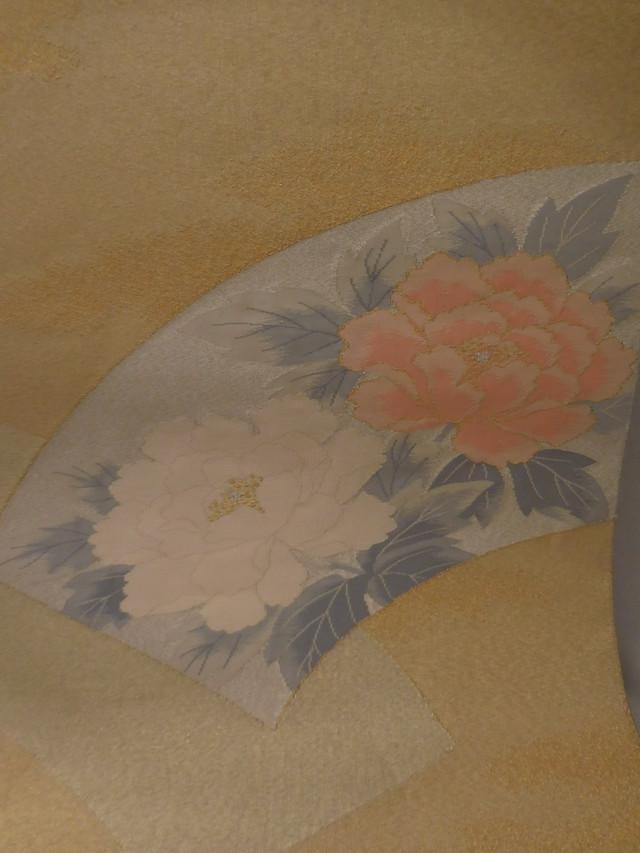 しじら織名古屋帯Shijira Nagoya obi sash (No61)