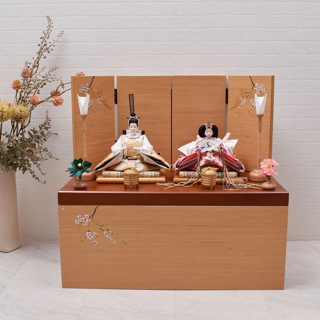 親王飾り<紫苑桜>収納上手