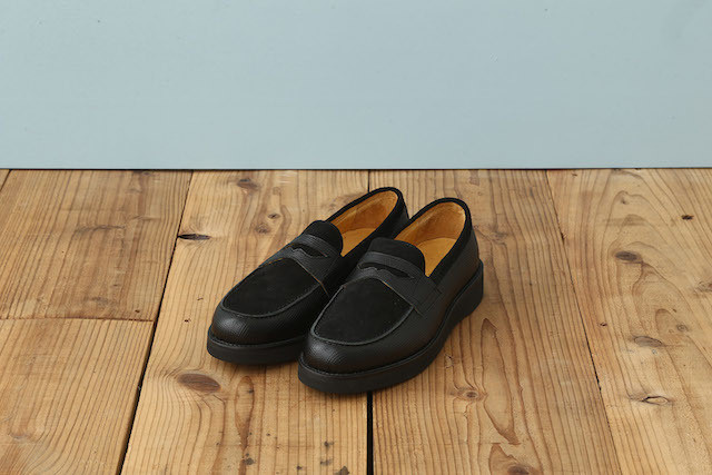 COIN LOAFER (WEDGE SOLE)