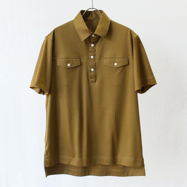 88/2スムース Wポケット半袖シャツ