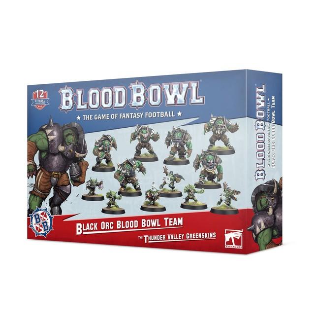 BLOOD BOWL: BLACK ORC TEAM【ウォーハンマー部会員価格】