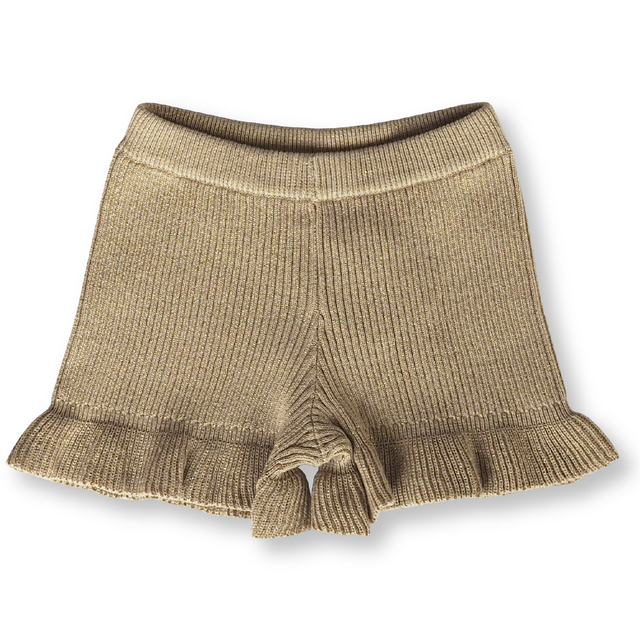 Grown / - Festive Collection - Ribbed Frill Shorts