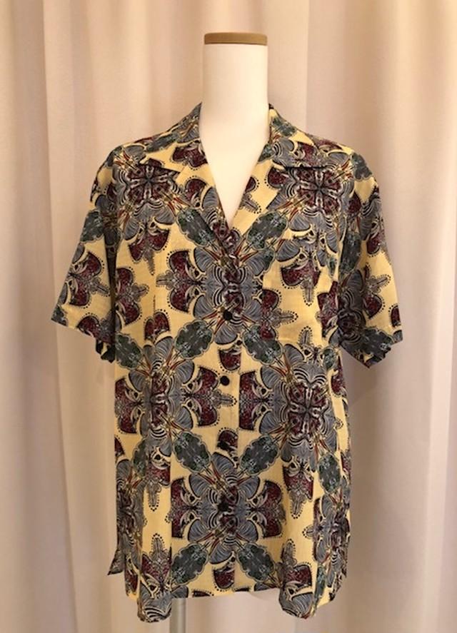 FUMIE TANAKA-print half shirt