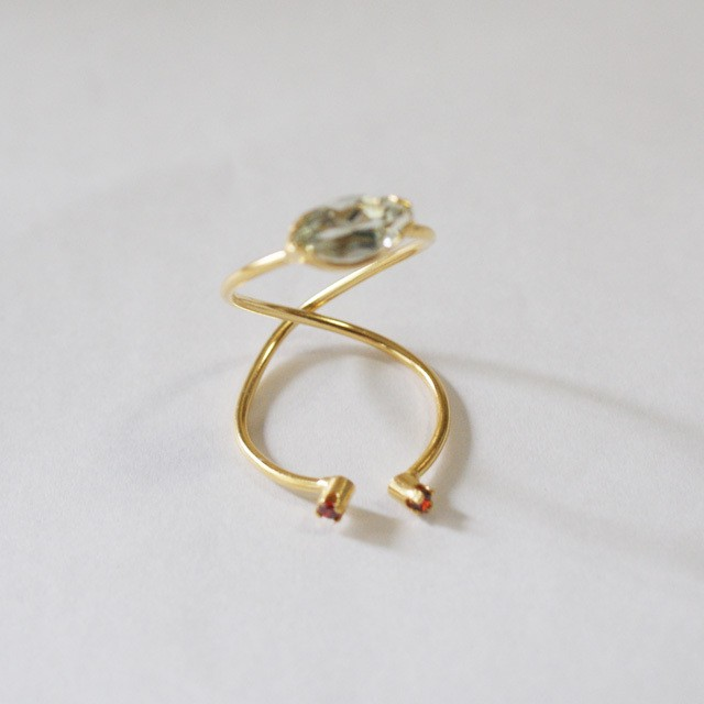 Beatriz Palacios/ Infinity Double Ring