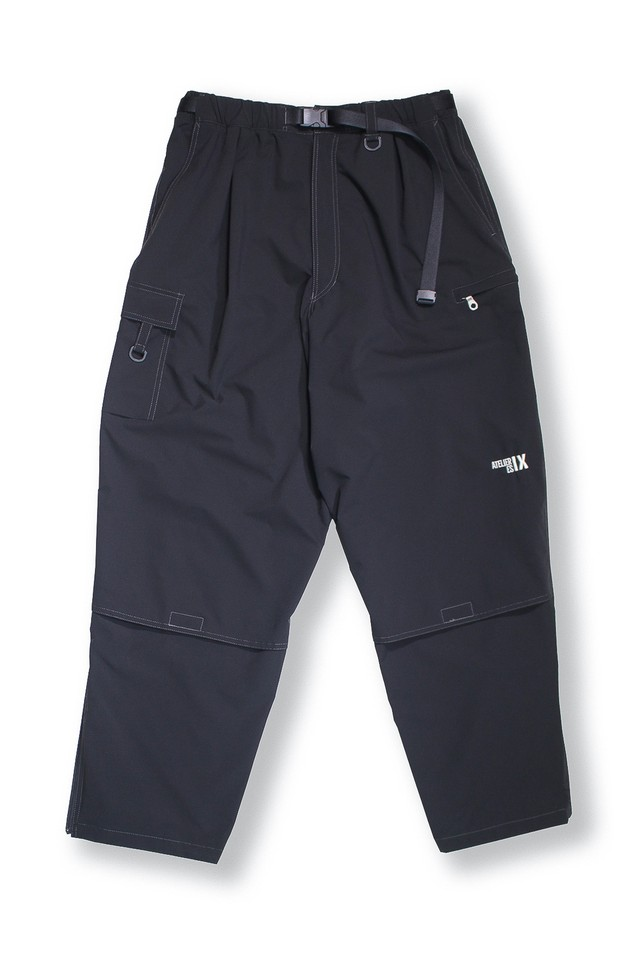 ESSAY  / TECH PANTS V2 (BLACK)