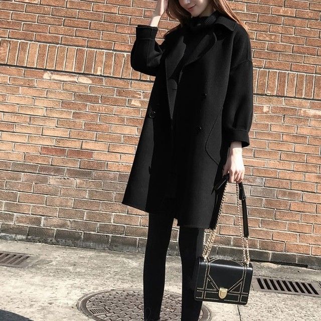 Middle Length Coat T601