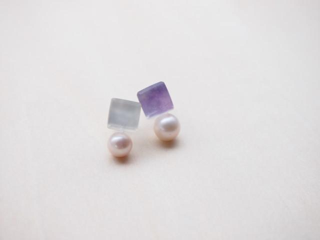 銀と江戸紫 washi-no-soushingu(EW-BY)