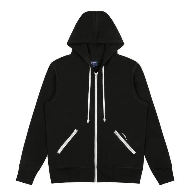 Zip Hoodie(Black)