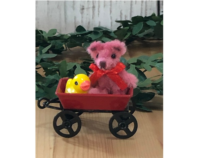 ミニチュアキャリーカートとおもちゃセット【Cセット】