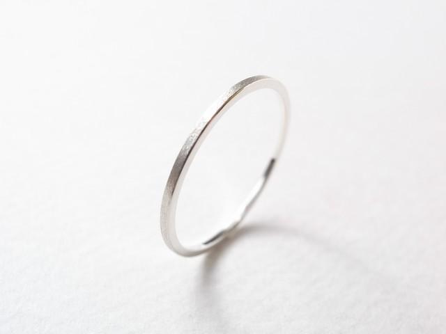 silver950/thin ring