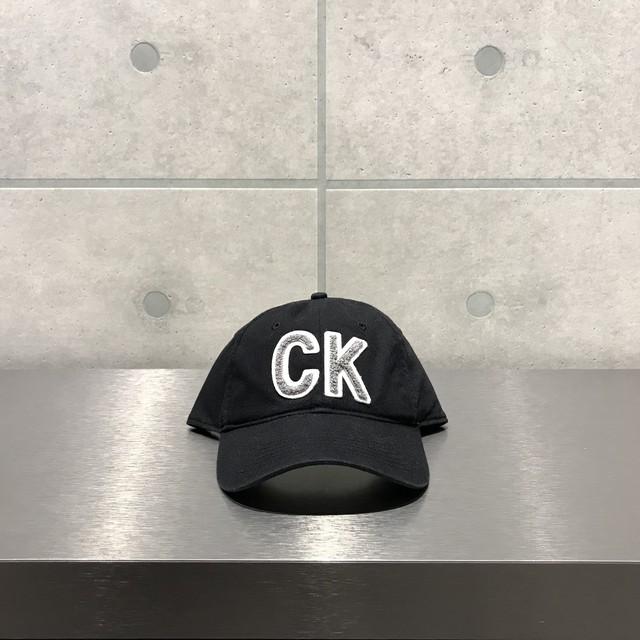 Calvin Klein CK LOGO 6-PANEL CAP / BLACK