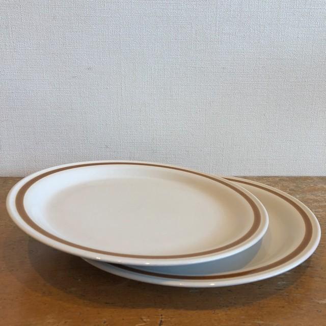 Vintage Stoneware Plate