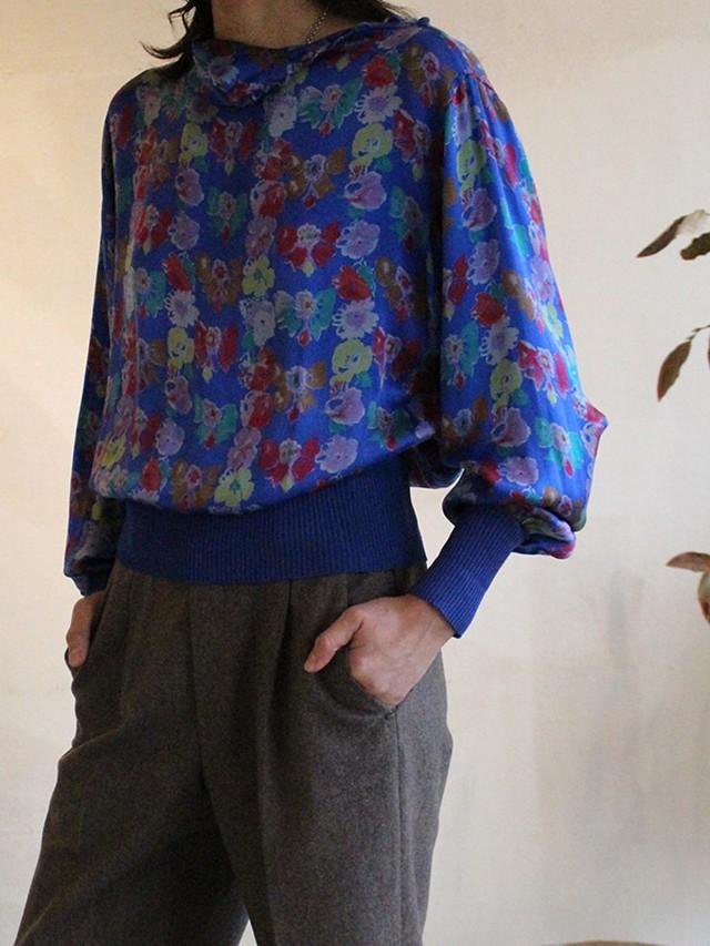 80s ungaro silk blouse