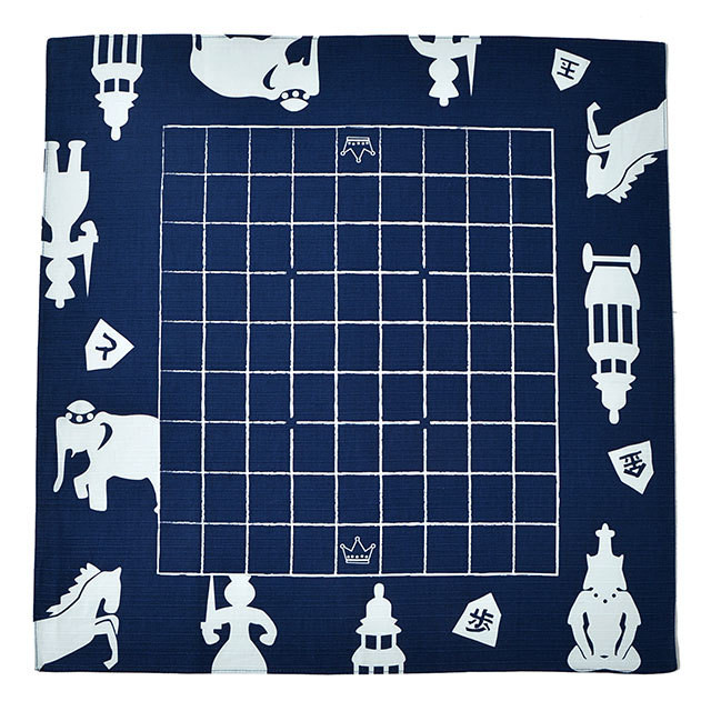 どこたま(風呂敷将棋盤 )世界の将棋