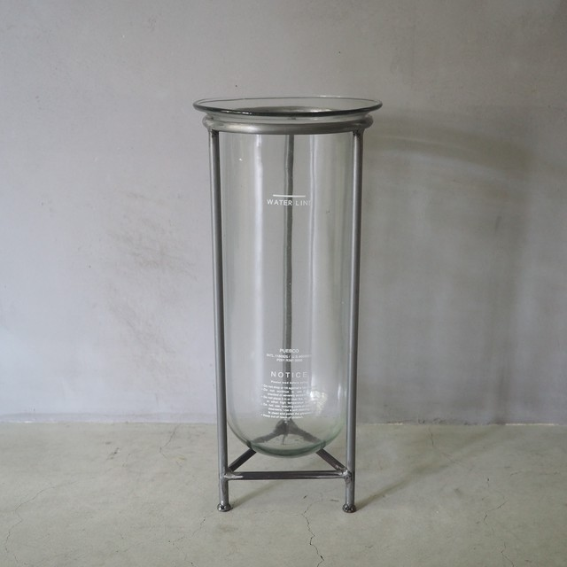GLASS TUBE WITH STAND