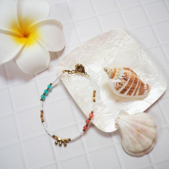 Beads Bracelet《WHT》18385029
