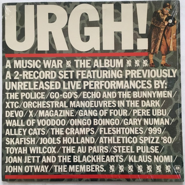 【LP x2・米盤】Various Artists  /  URGH! A Music War