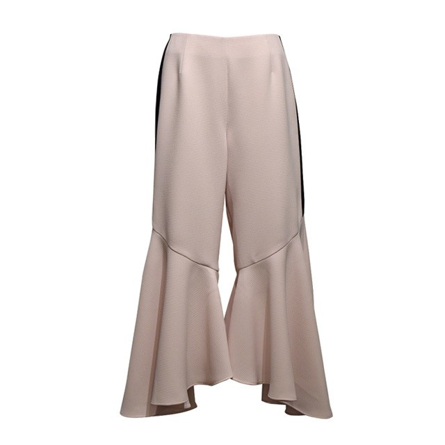 koll / flared hem pants / Ivory