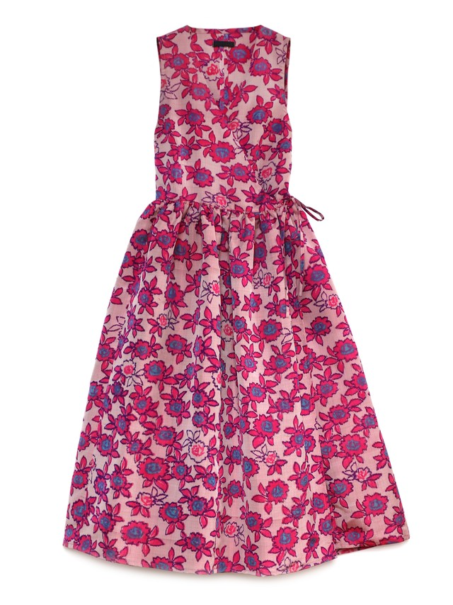 CLAUDIA WRAP DRESS - wild pinkies