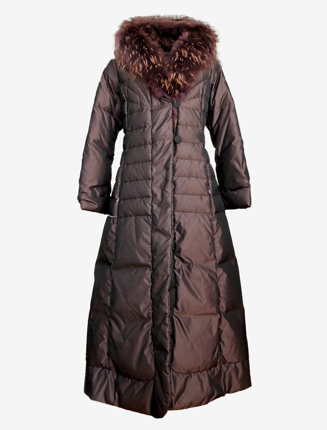 MONCLER DELIA LONG DOWN COAT
