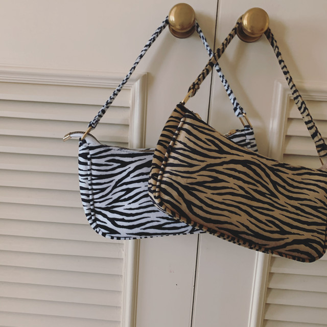 10/16 NEW zebra bag
