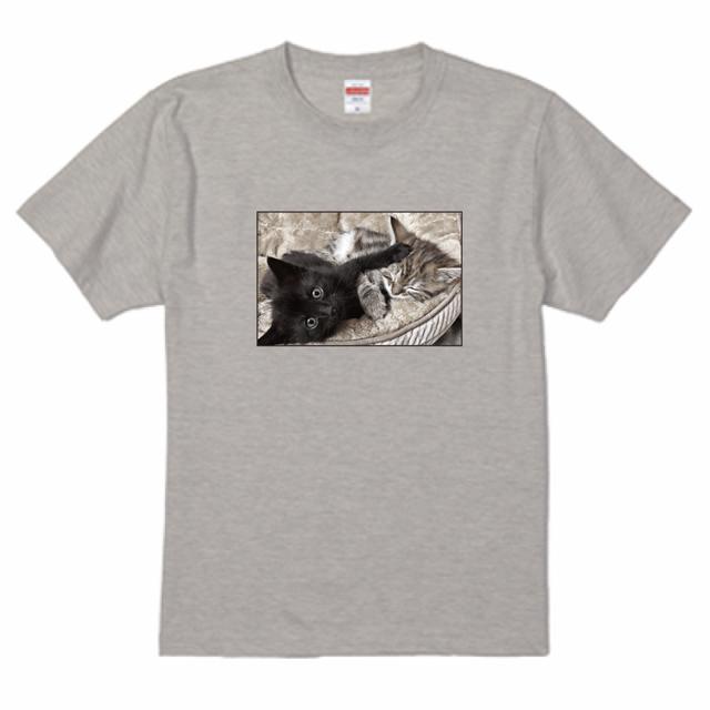 『猫Tシャツ特集#3』 United Athle5.6ozTシャツ オートミール