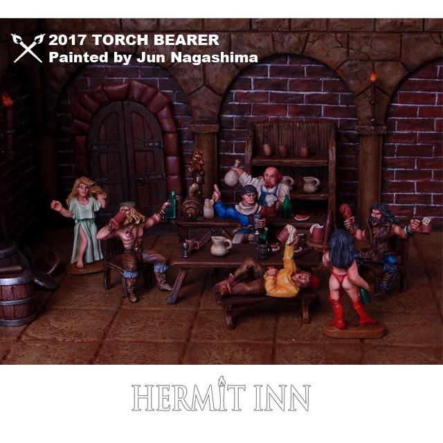 荒くれ者たちの酒場 ジオラマセット - メイン画像